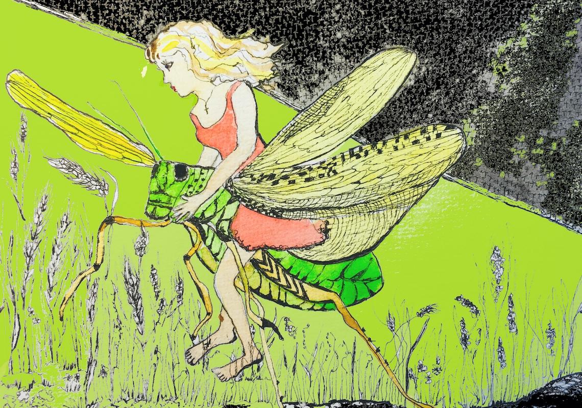 Harnessing the Locust